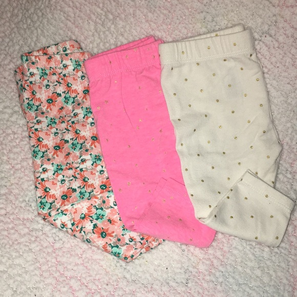 b725bc7e41ee6 Bottoms | Bundle Of 3 Infant Girl Pants Size 36 Months | Poshmark